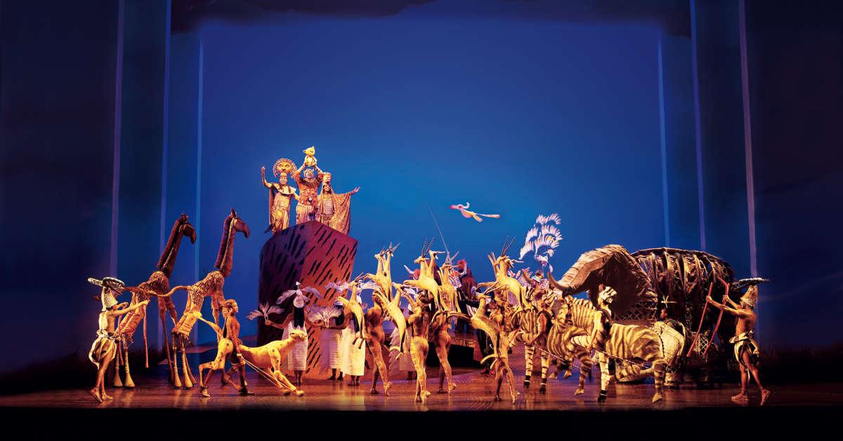 Disneys Der Konig Der Lowen Preiswerte Musical Busreisen