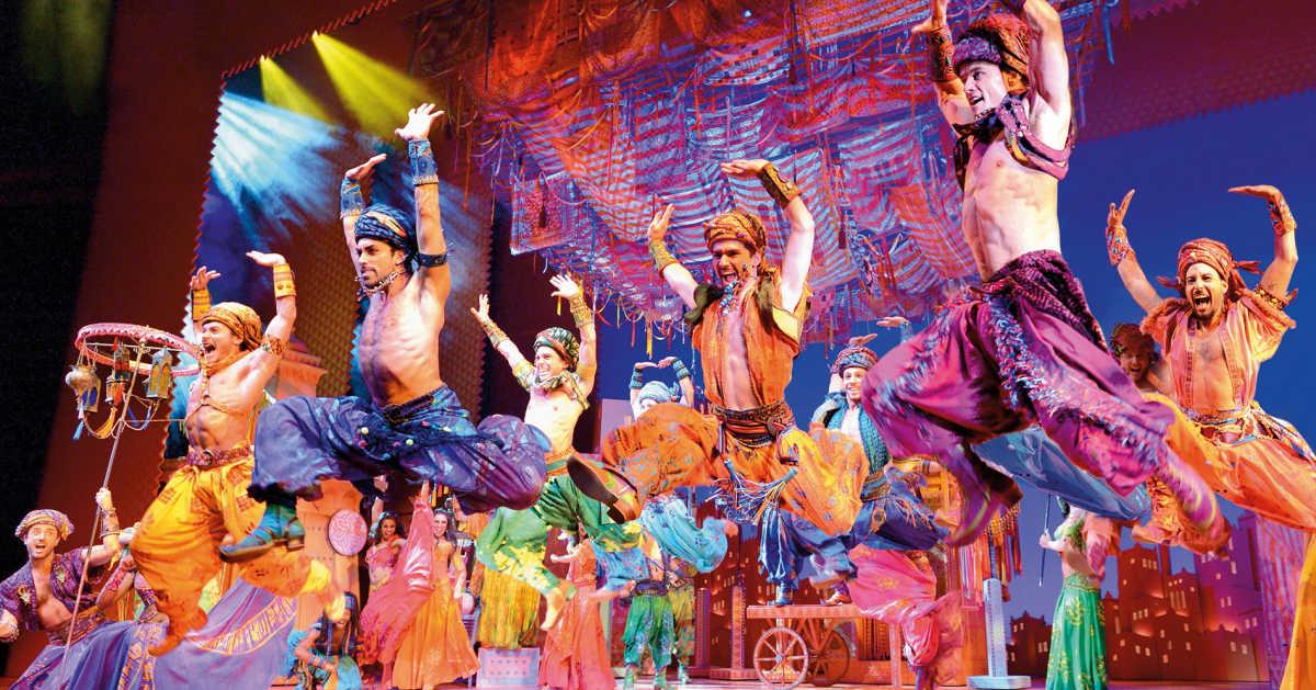 Disneys Aladdin Preiswerte Musical Busreisen Buswelt De